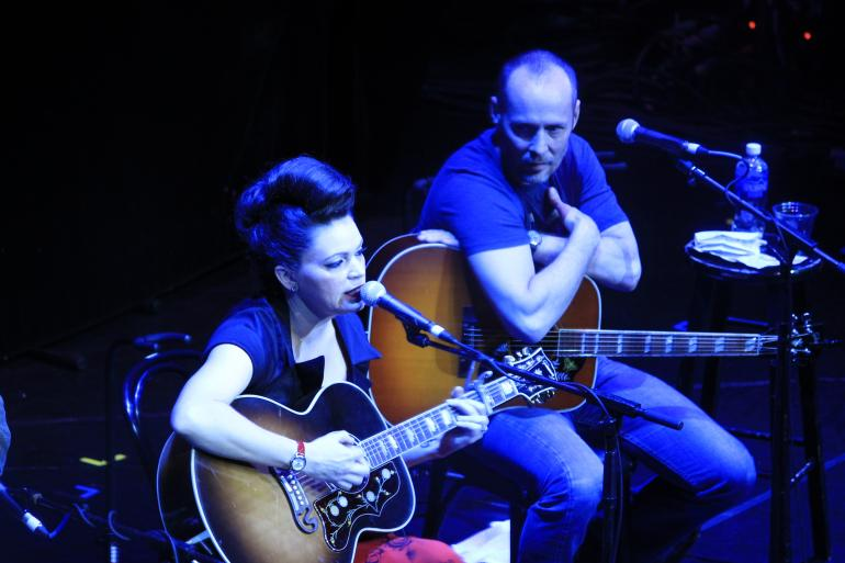 Angaleena Presley and Paul Thorn, Cayamo 2016