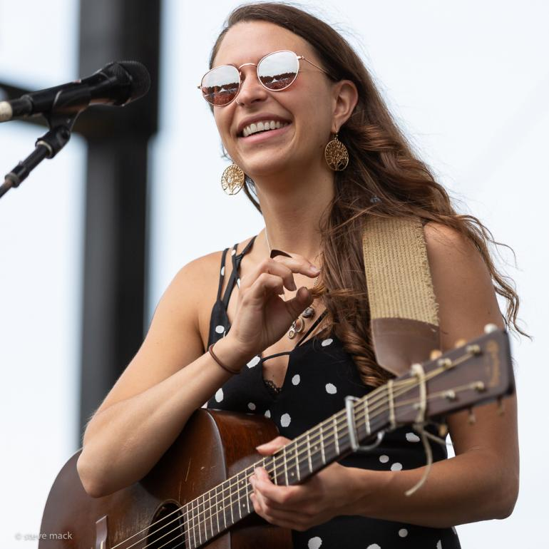 Lindsay Lou at the Blue Ox Music Festival 2018