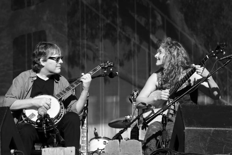 Bela Fleck and Abigail Washburn at HSB 2014