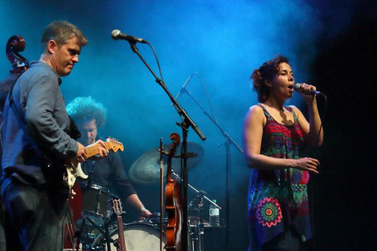 Dirk Powell and Rhiannon Giddens at Bluesfest Byron Bay (April 13, 2017)