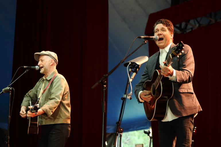 Billy Bragg and Joe Henry at Bluesfest Byron Bay (April 17, 2017)