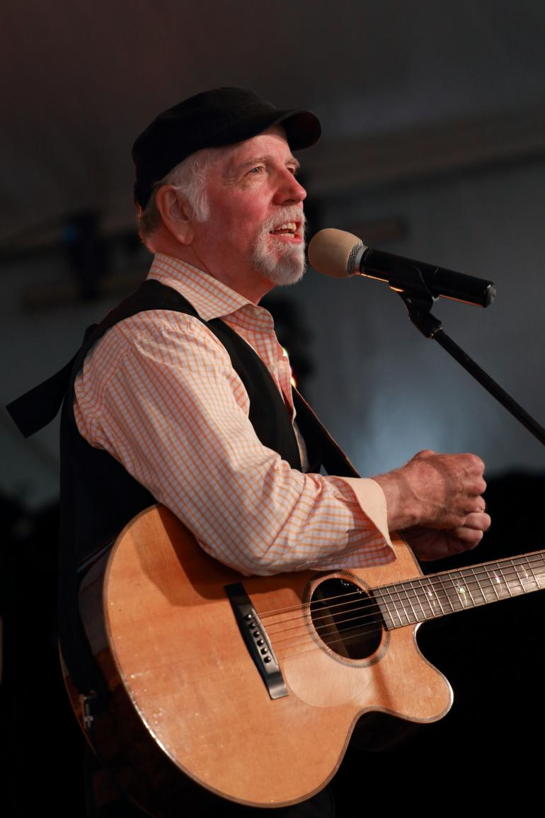 John McCutcheon at Blue Mountains Music Festival, Australia (March 20, 2016)
