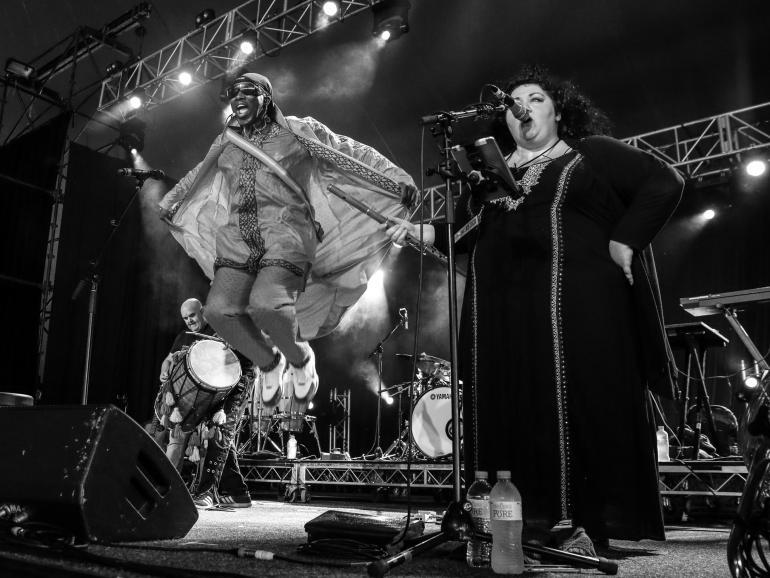 Afro Celt Sound System at Bluesfest Byron Bay 2018
