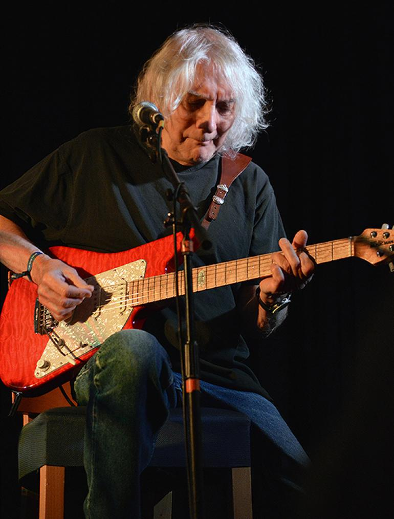 Albert Lee at Folk Alliance 2016