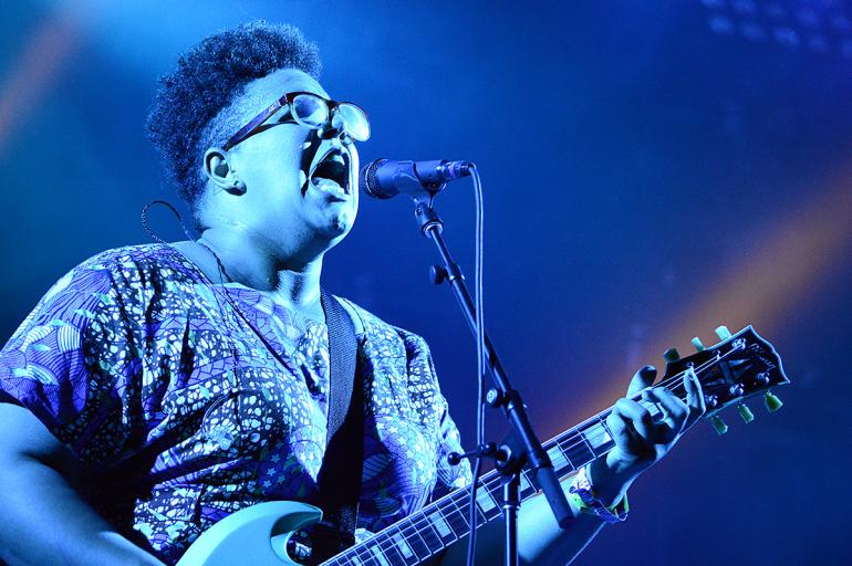 Britney Howard of the Alabama Shakes at the 2016 Hangout Festival
