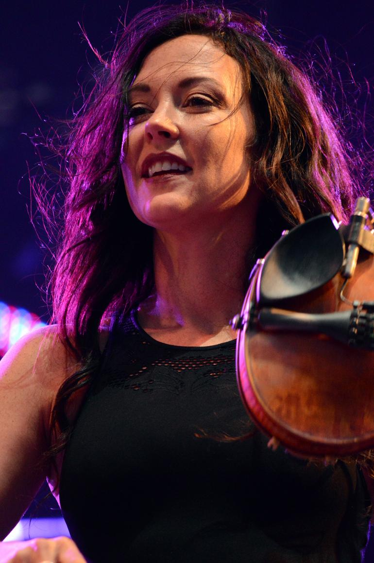 Amanda Shires at the 2016 Hangout Festival