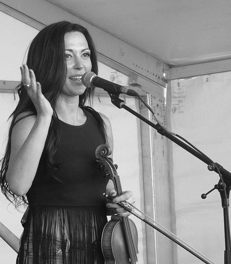 Amanda Shires at Bonnaroo Music and Arts Festival 6/10/2016