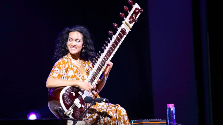 Anoushka Shankar at WOMADelaide on March 9th 2018