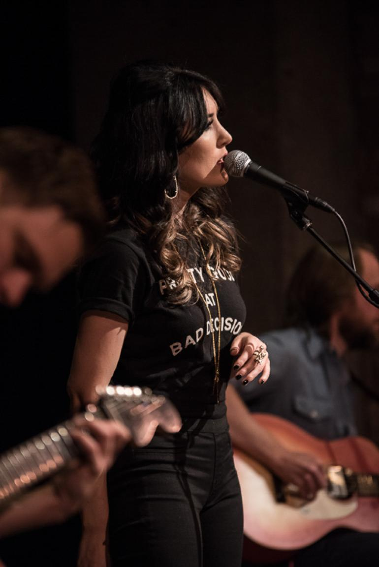 Aubrie Sellers at CMA Fest