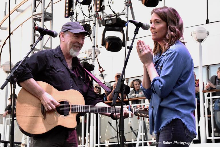 Richard Thompson and Brandi Carlile, Cayamo 2018