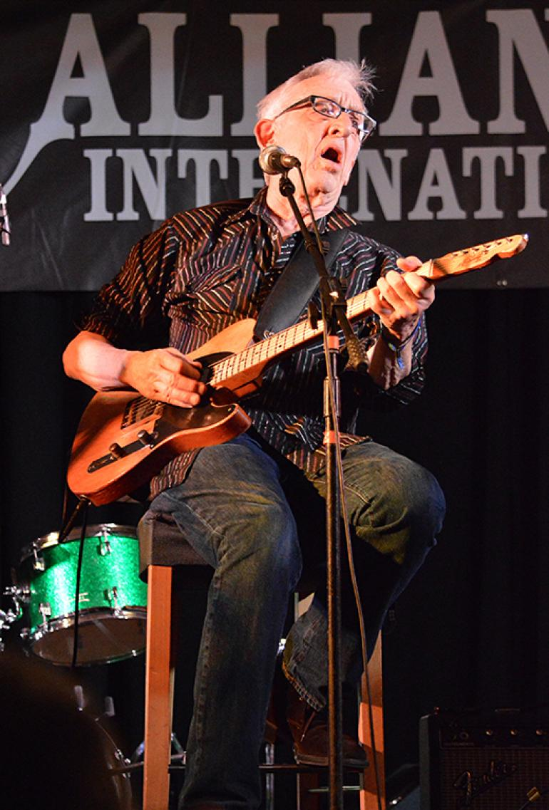 Bill Kirchen at Folk Alliance 2016