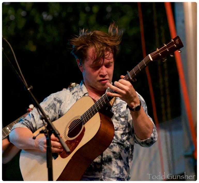 Billy Strings on the Capitol Stage 10/1/2016
