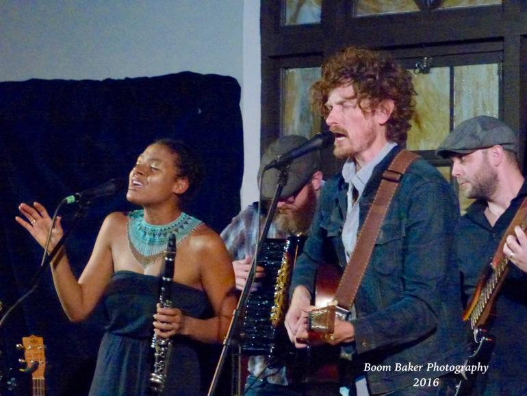 Birds of Chicago perform March 30, 2016 at the Fremont Abbey in Seattle