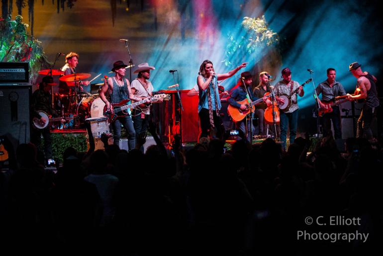Brandi Carlile with Old Crow Medicine Show @ AVA Amphitheater