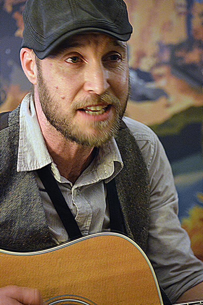 Brock Zeman at Folk Alliance 2016