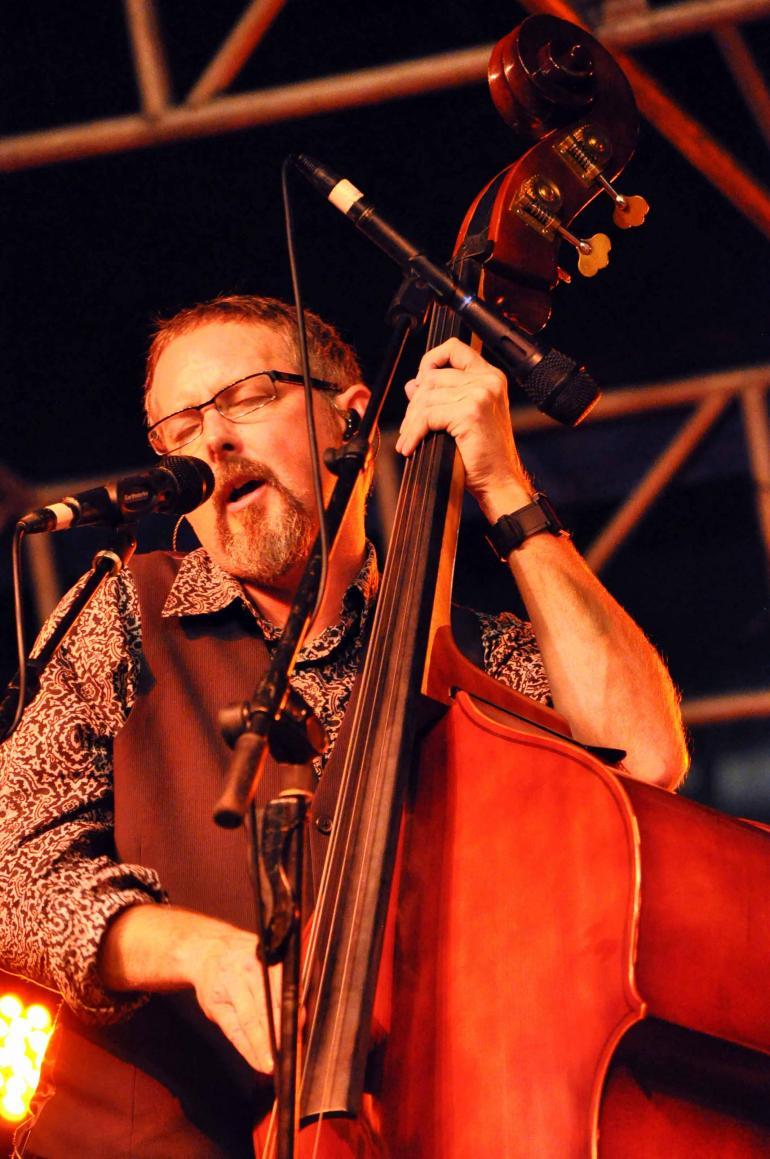 Buddy Melton of Balsam Range at IBMA Wide Open Bluegrass 2016