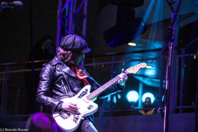 Aaron Lee Tasjan performs on Cayamo