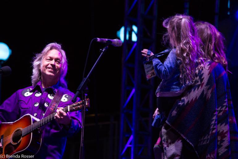 Jim Lauderdale and Brandi Carlile perform on Cayamo