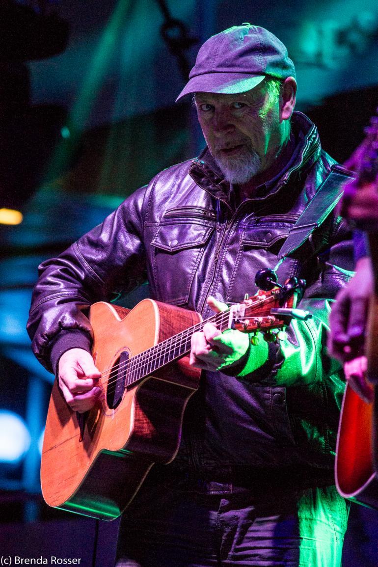 Richard Thompson performs at the John Prine Tribute