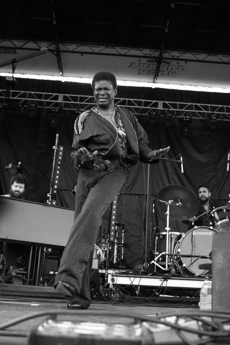 Charles Bradley at the 2017 High Water Festival