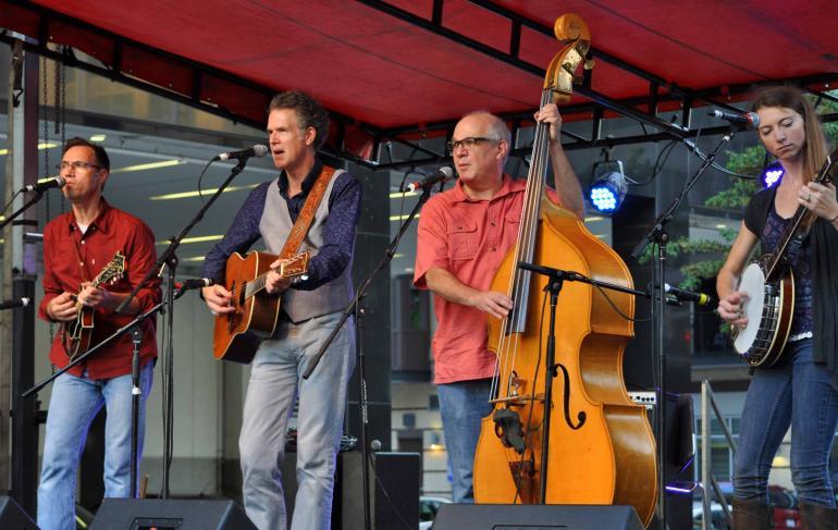 Chris Jones & the Night Drivers at IBMA Wide Open Bluegrass 2016