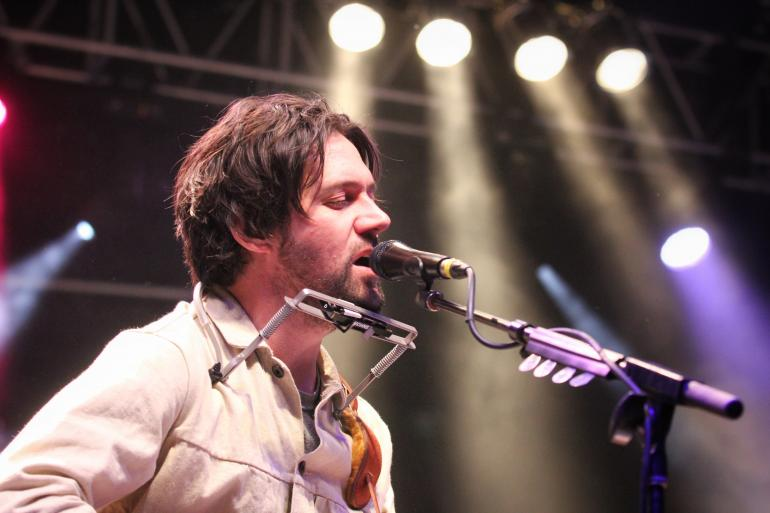 Conor Oberst at the 2017 Nelsonville Music Festival