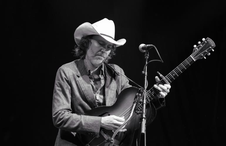 Dave Rawlings at the Nelsonville Music Festival 2016