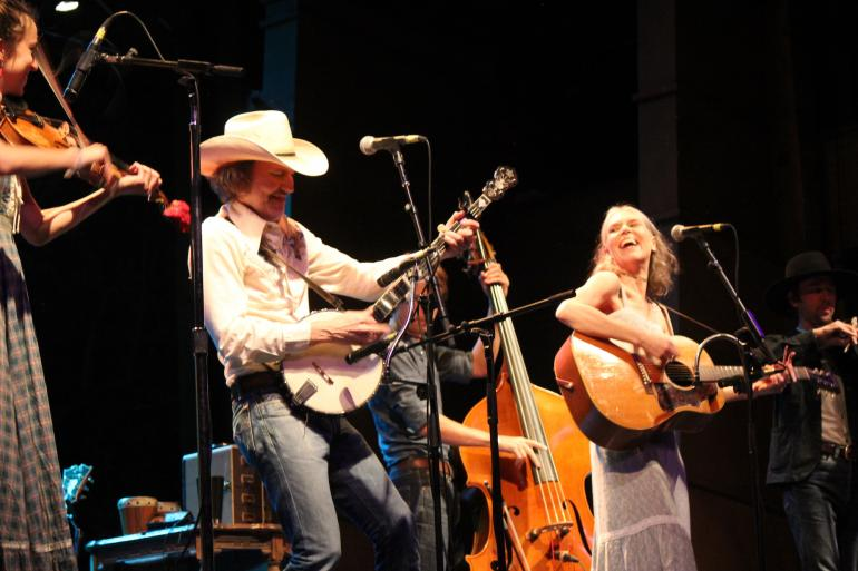 Dave Rawlings, Gillian Welch at 2017 Rocky Mountain Folks Festival