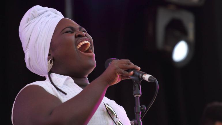 Daymé Arocena at WOMADelaide on March 9th 2018