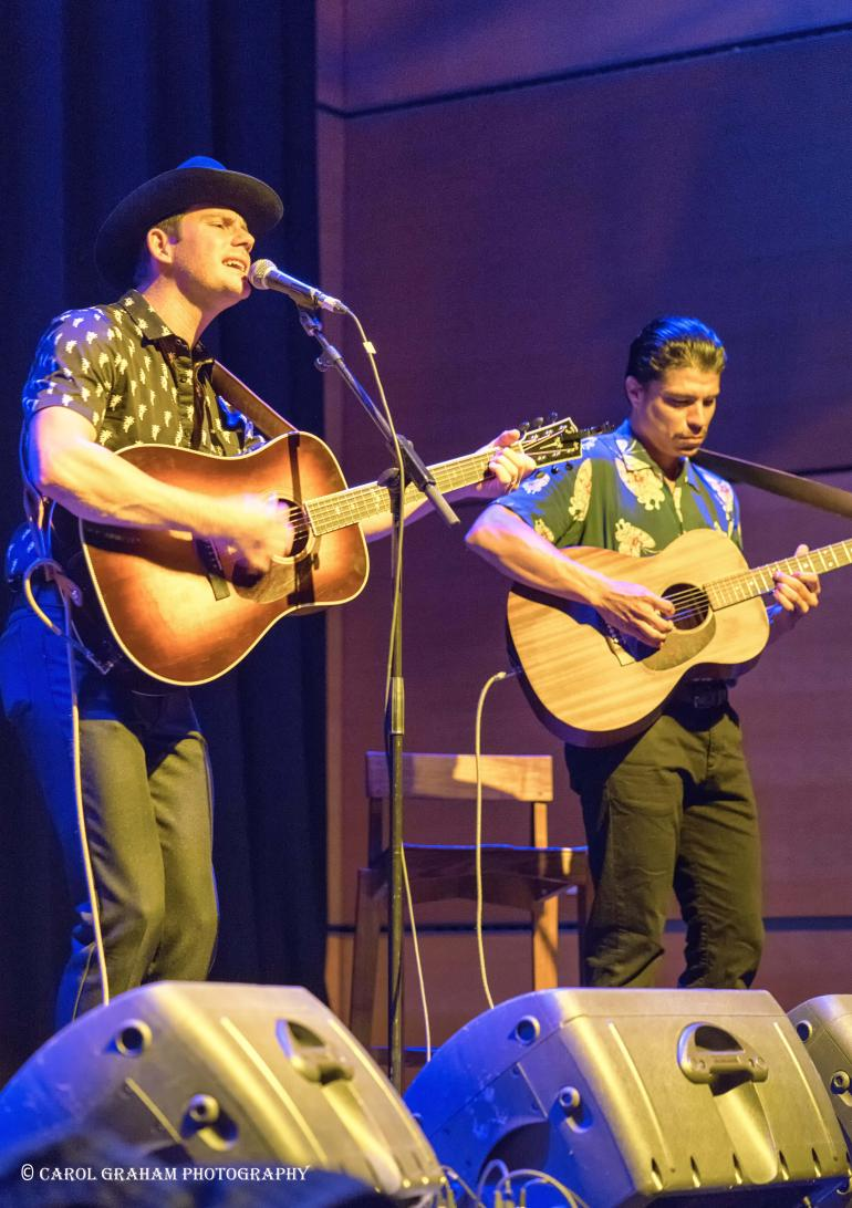 Sam Outlaw and Danny Garcia @ Glasgow Americana 2016