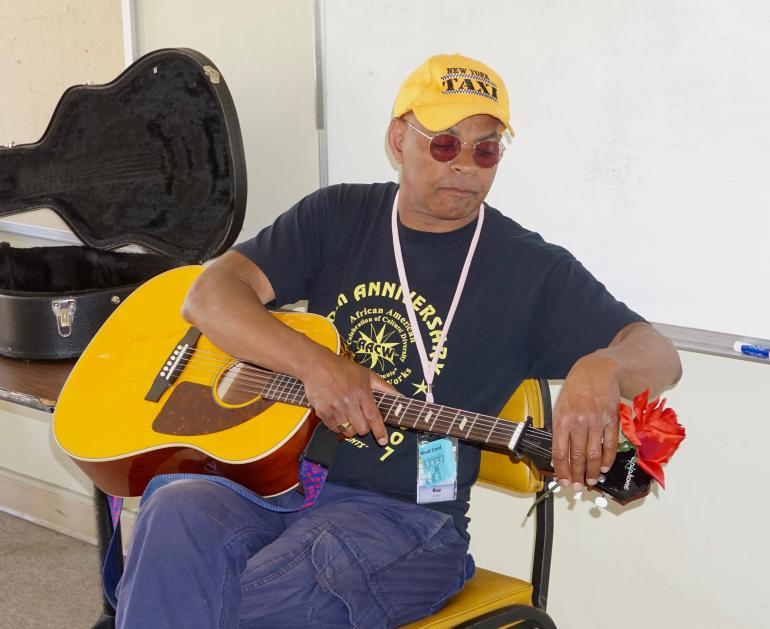 Guy Davis at the Port Townsend Acoustic Blues Festival, August 4, 2016