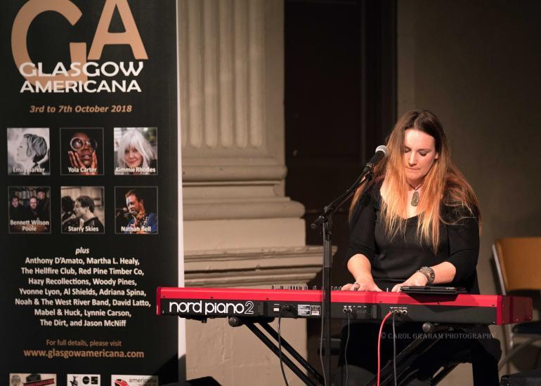 Yvonne Lyon @ Glasgow Americana
