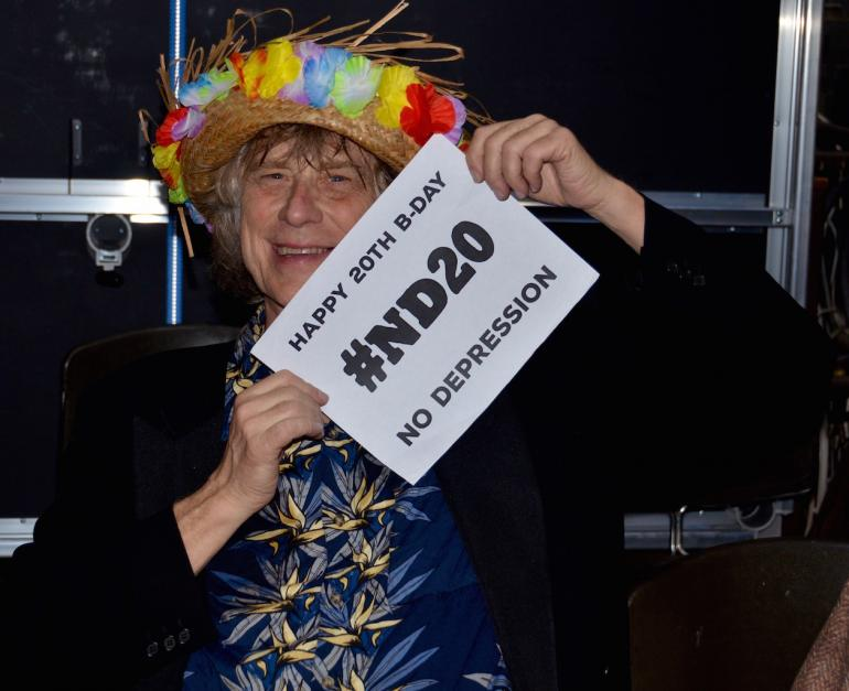 Terry Adams of NRBQ Wishes No Depression a Happy 20th Birthday