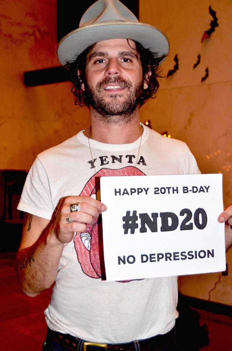Langhorne Slim Says Happy 20th Birthday
