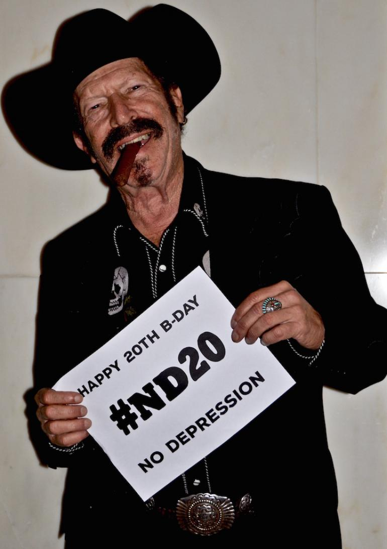 Happy 20th Birthday from Kinky Friedman