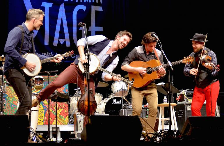 We Banjo 3, Mountain Stage, March 13, 2016