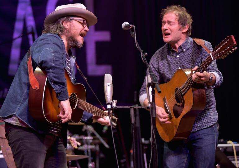 Jeff Tweedy and John Stirratt of Wilco, Mountain Stage, February 14, 2016