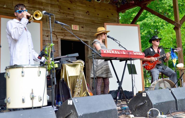 Krekel and Whoa, Shakori Hills Festival Spring 2016
