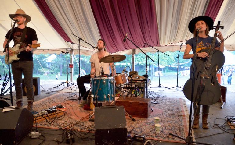Ballroom Thieves, Shakori Hills Festival Spring 2016