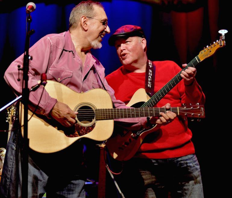 Robert Shafer and David Bromberg, Stuart's Opera House, Nelsonville, Ohio, 2016