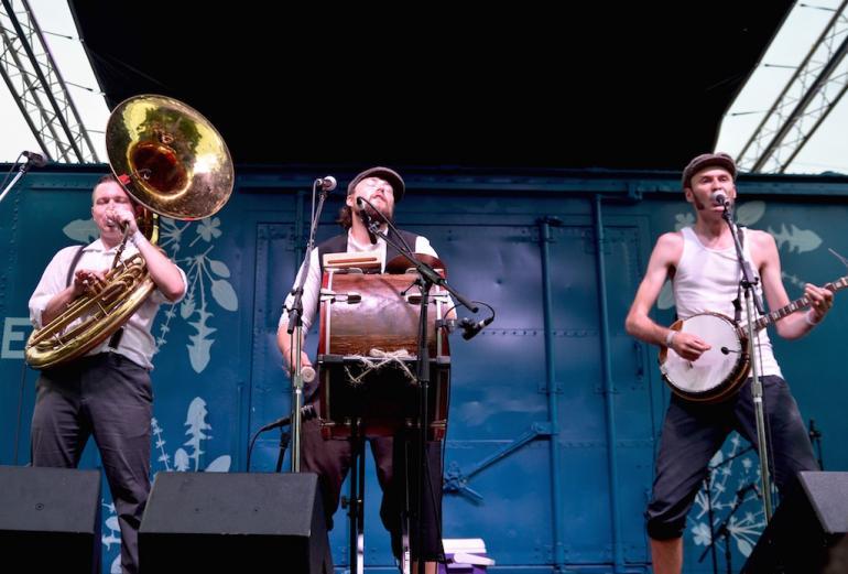 Hanba, Nelsonville Music Festival 2016