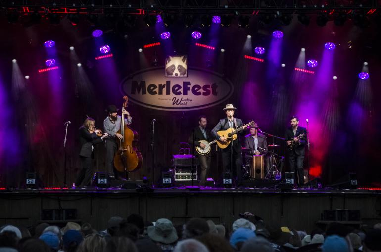 Steep Canyon Rangers @ Merlefest 2016