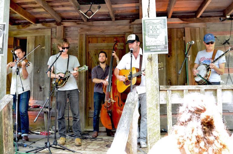 Town Mountain, Nelsonville Music Festival 2016