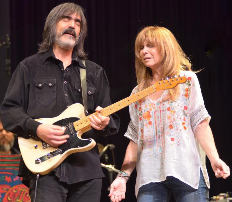 Larry Campbell and Teresa Williams, Mountain Stage 2015