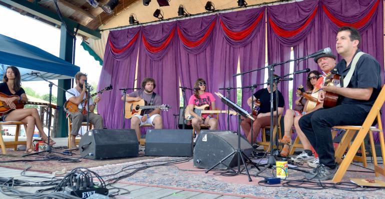 Songwriters Circle, Finger Lakes GrassRoots Festival
