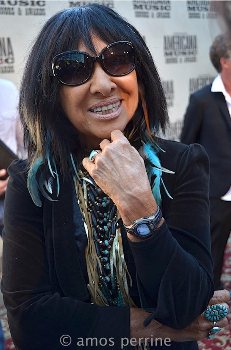 Buffy St. Marie,  AMA Awards Red Carpet, The Ryman, September 16, 2015