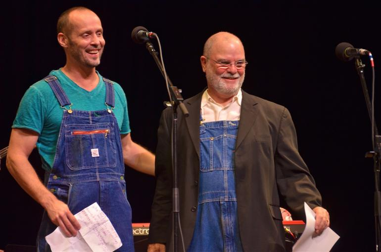 Paul Thorn and Larry Groce, Mountain Stage 2014
