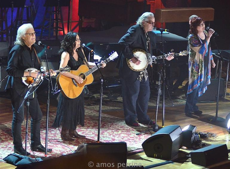 Ricky Skaggs, Ry Cooder and Sharon White,  AMA Awards, The Ryman, September 16, 2015
