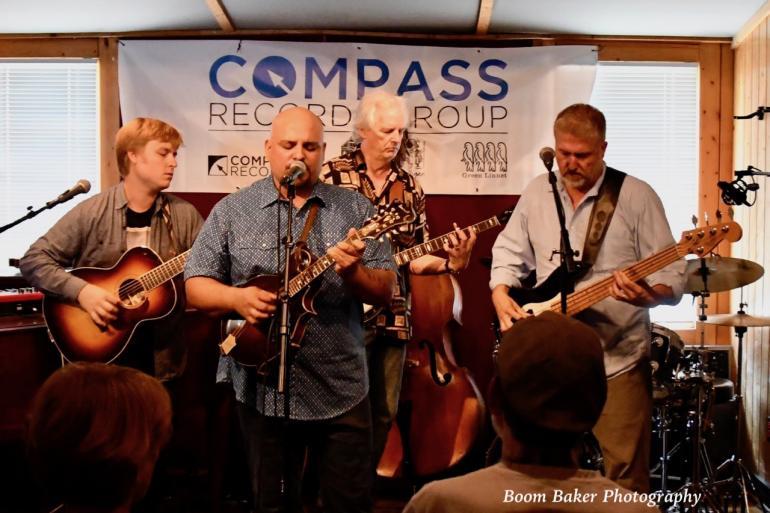 Frank Solivan & Dirty Kitchen at Compass Records/No Depression Showcase