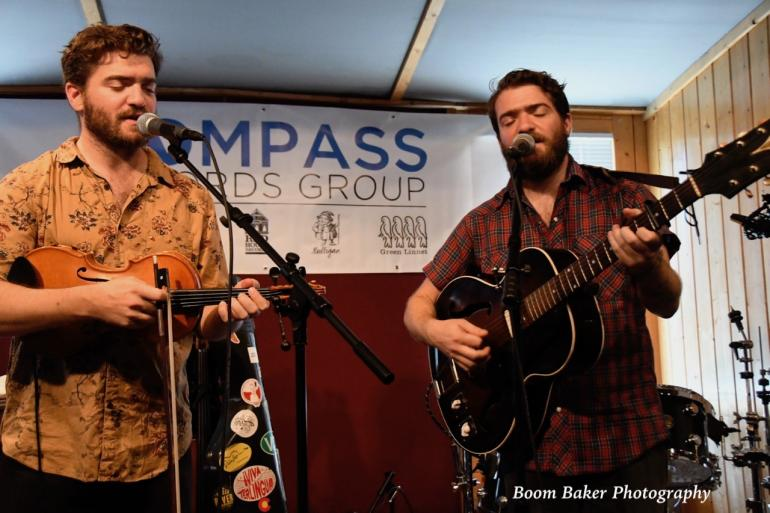 The Brother Brothers at the Compass Records/No Depression Showcase